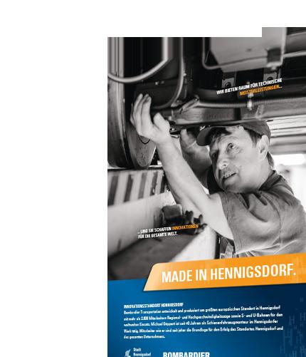 Innovationsstandort Hennigsdorf / Made in Hennigsdorf